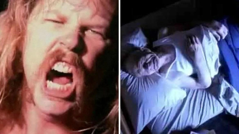 "Clipe de ""Enter Sandman"", do Metallica"