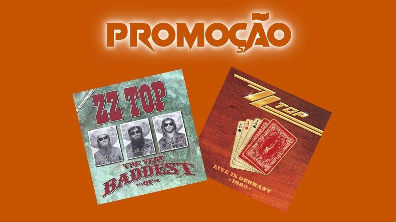 Promoção 2 CDs do ZZ Top