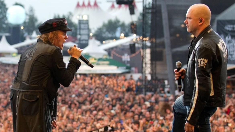 Tobias Sammet e Michael Kiske com Avantasia no Wacken Open Air 2011