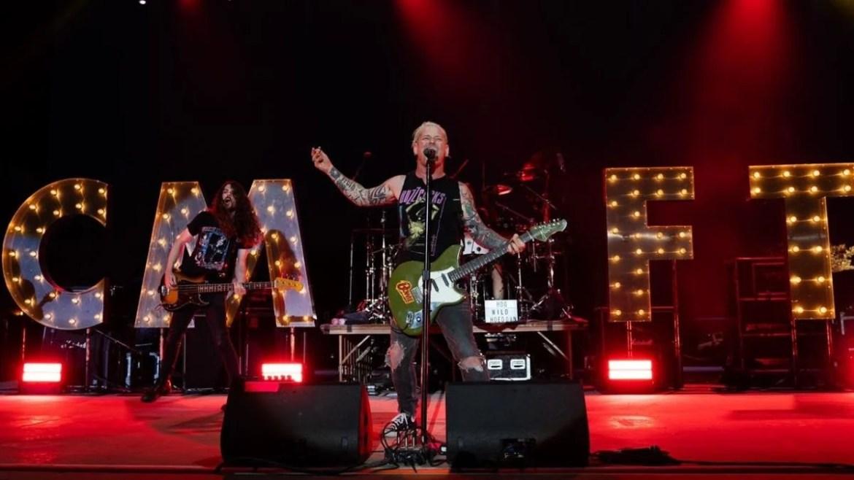 Corey Taylor se apresenta na 'CMFT Tour 2021'