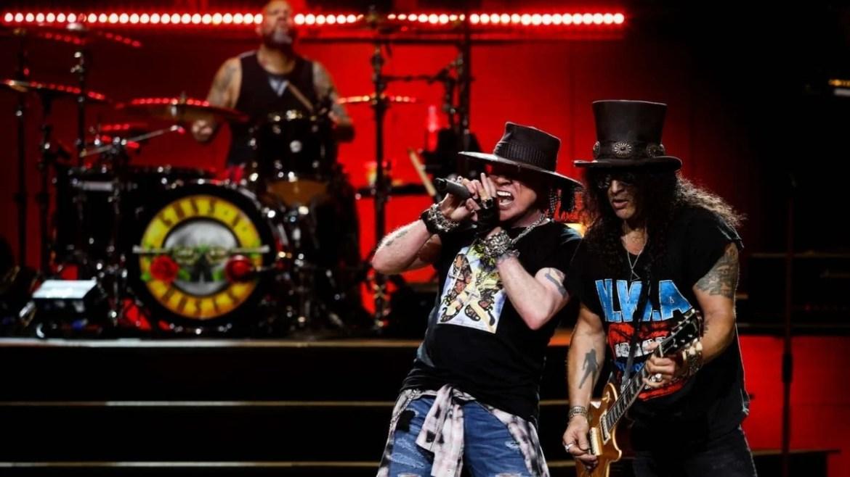 Guns N' Roses em turnê
