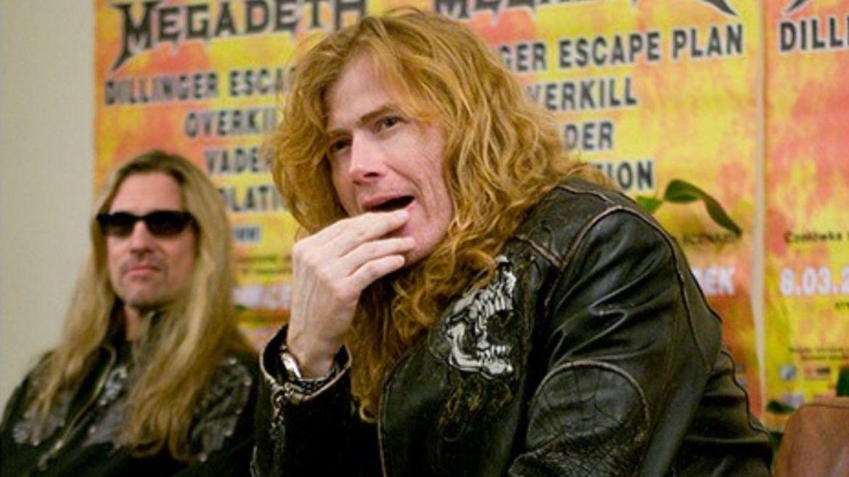 James LoMenzo e Dave Mustaine no Megadeth