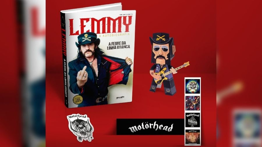 Lemmy Kilmister - 'A Febre da Linha Branca'