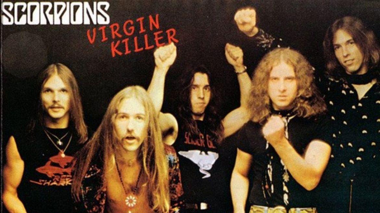 Capa alternativa de 'Virgin Killer', do Scorpions