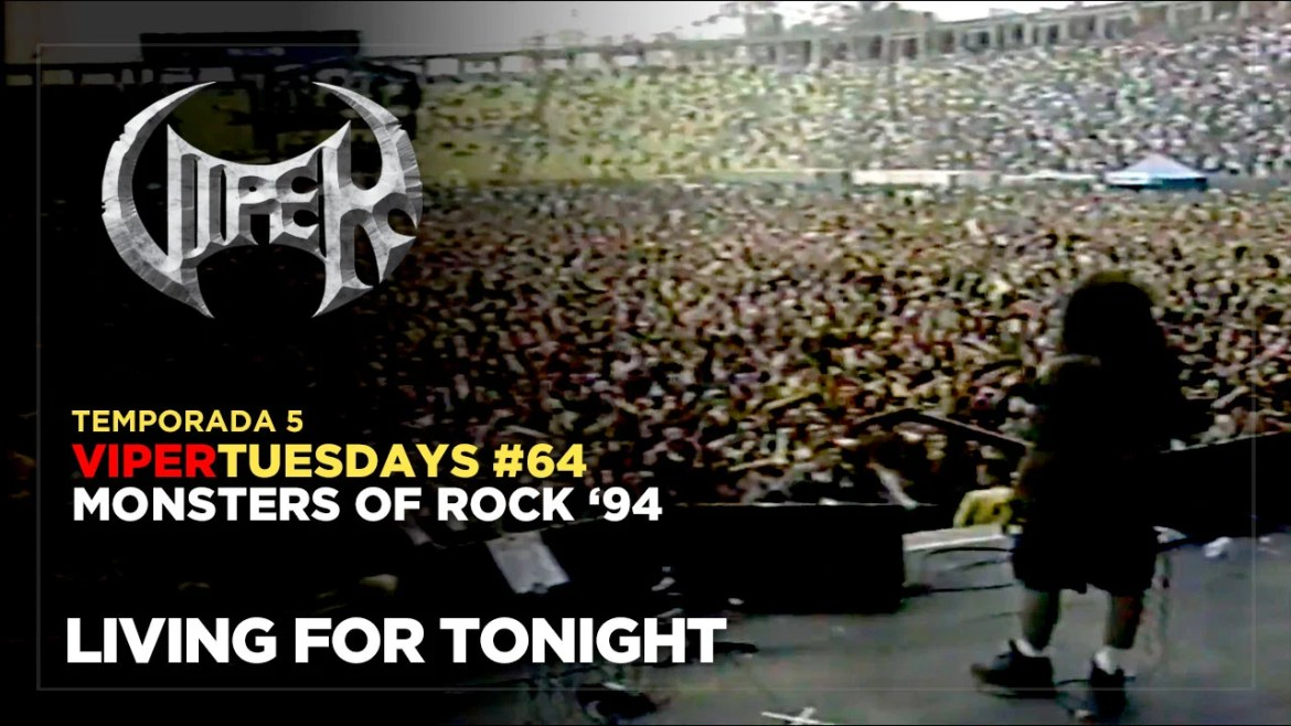Living For The Night - Monsters of Rock 94 - VIPER Tuesdays