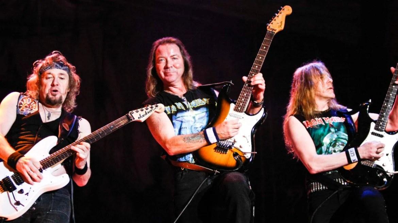 Adrian Smith - Dave Murray - Janick Gers - Iron Maiden