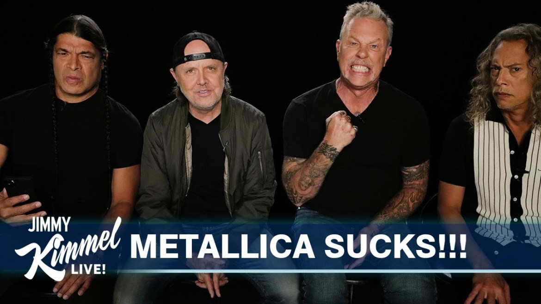 Metallica lendo resenhas
