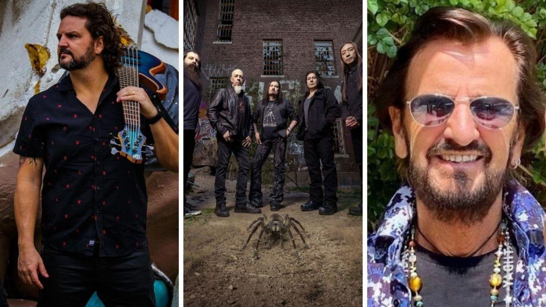 Felipe Andreoli, Dream Theater, Ringo Starr