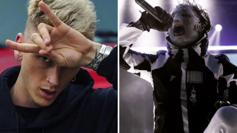Machine Gun Kelly e Corey Taylor, do Slipknot