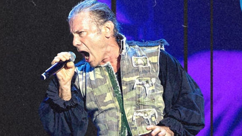 Bruce Dickinson, do Iron Maiden, no Rock In Rio