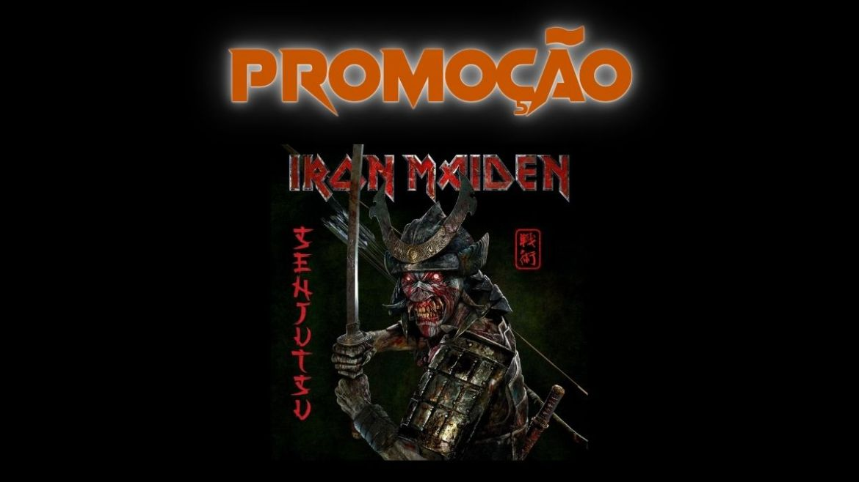Sorteio 'Senjustu', do Iron Maiden