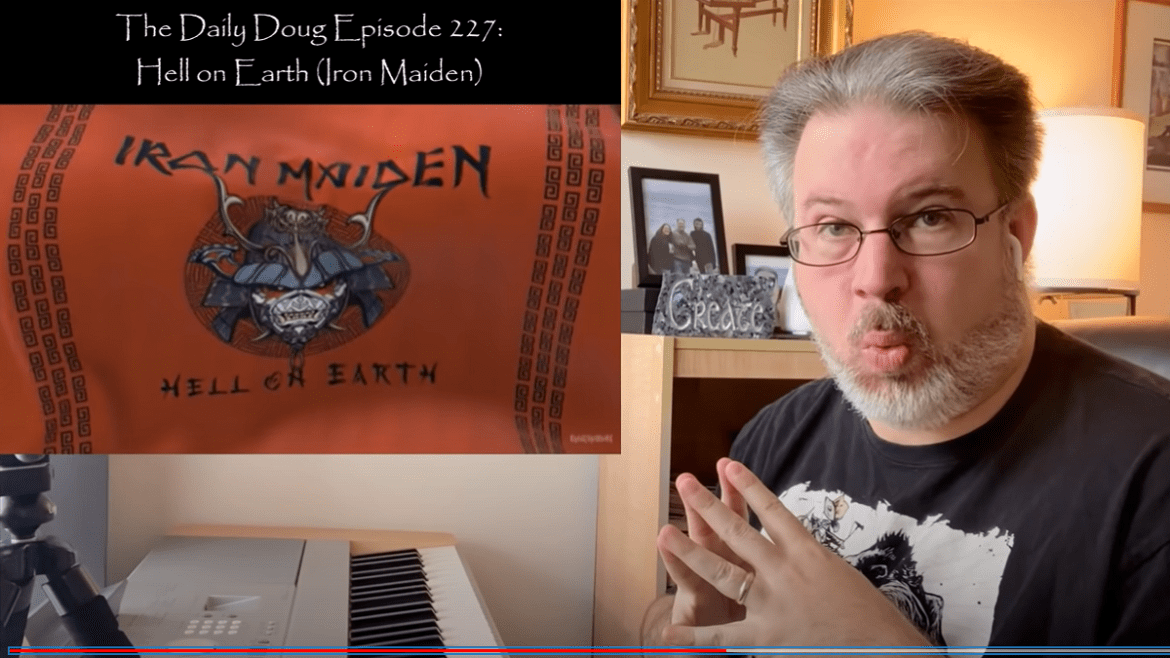 The Daily Doug Hell On Earth Iron Maiden