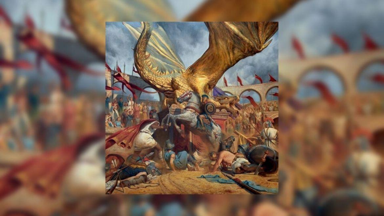 Capa de 'In The Court Of The Dragon', do Trivium