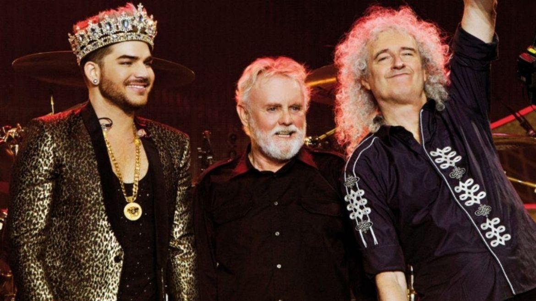 Adam Lambert, Roger Taylor e Brian May