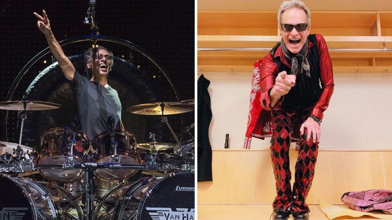 Alex Van Halen e David Lee Roth