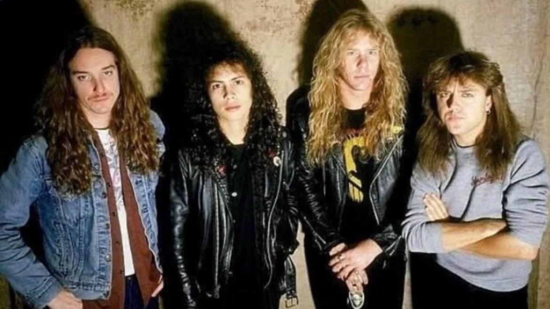 Metallica em setembro de 1986