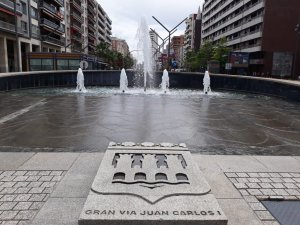 Placa Gran Vía Logroño