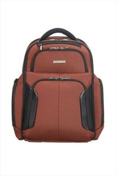 mochila portatil marron
