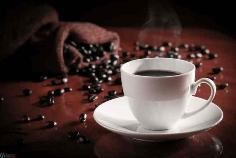 القهوة السوداء لرفع الحرق