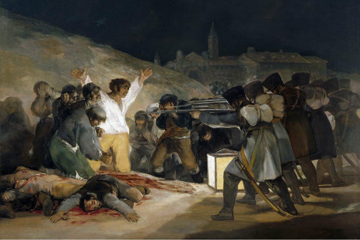 El Prado – De Derde Mei Van 1808 Van Francisco Goya