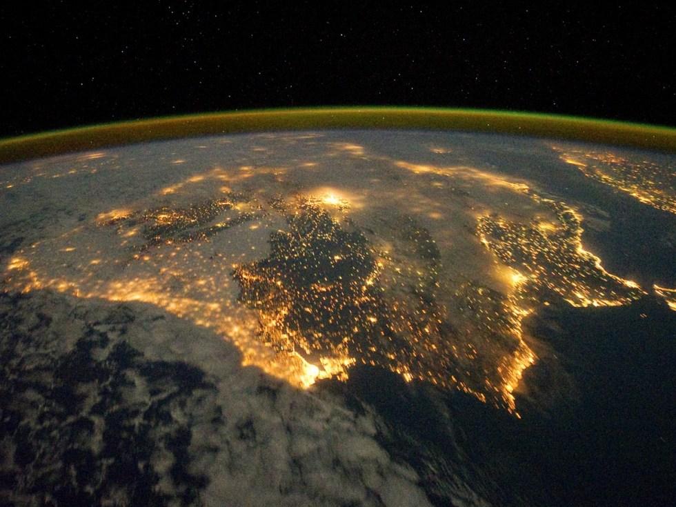 Fotogalerij: Spanje Gezien Door De Ogen Van Een Astronaut