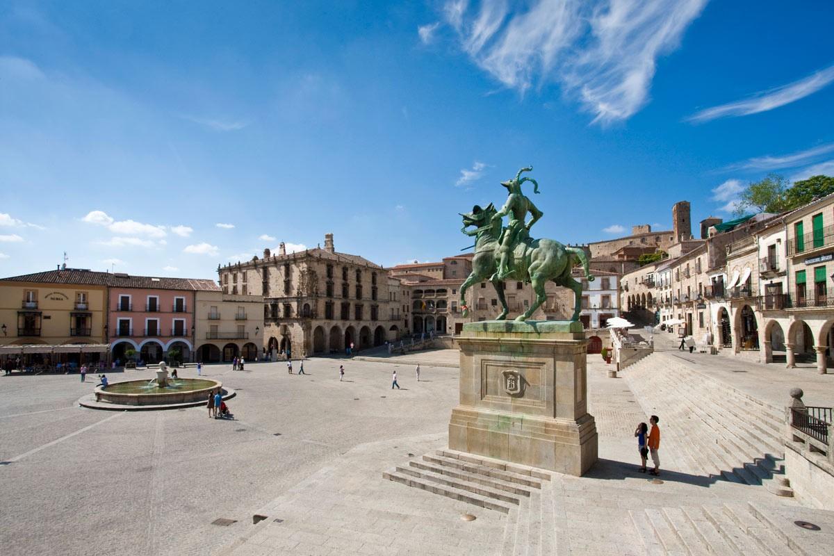 Plaza Mayor de Trujillo (Cáceres)