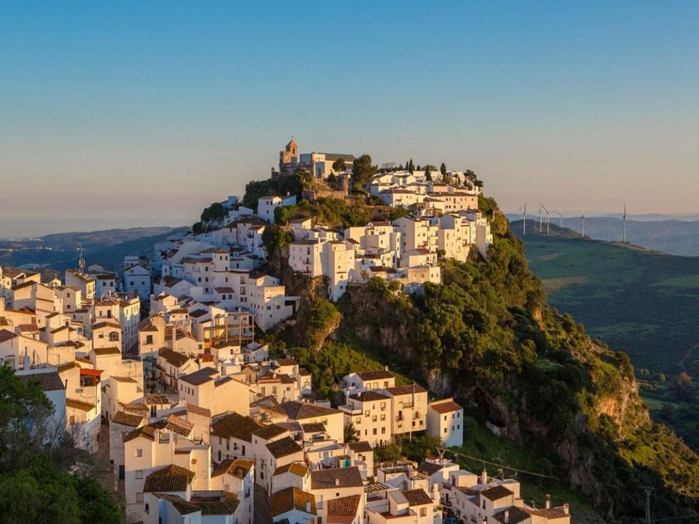 Fotogalerij: Spaanse Dorpen Gelegen Op Heuvels