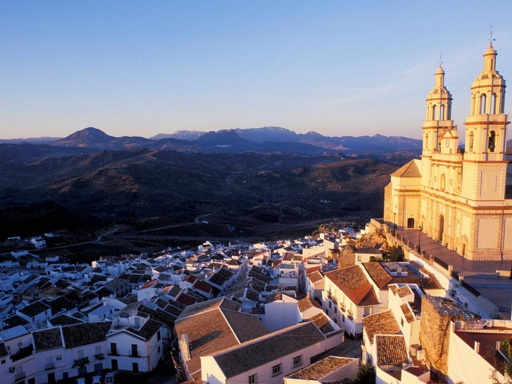 Dorpen op heuvels – Olvera (Cádiz)