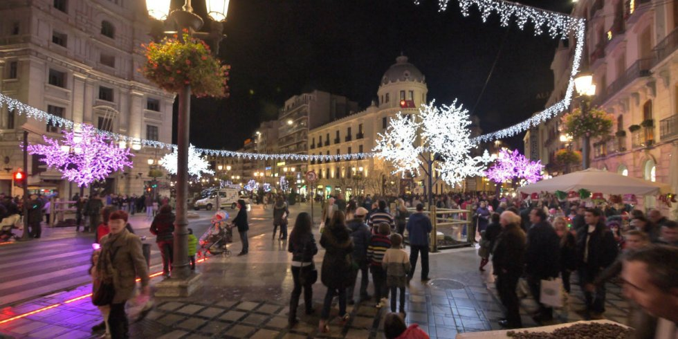 Granada - Calle Mesones - Foto: Granadaandaluza.blogspot