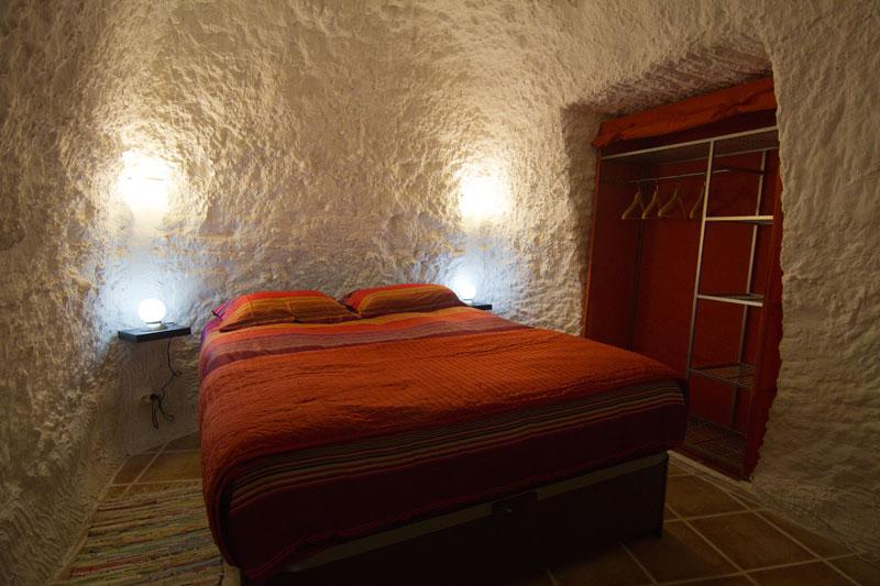 Rust, ontspanning en koelte van de grotwoningen
