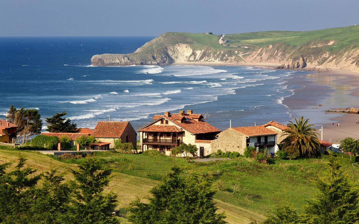 Playa Merón (San Vicente de la Barquera, Cantabria)