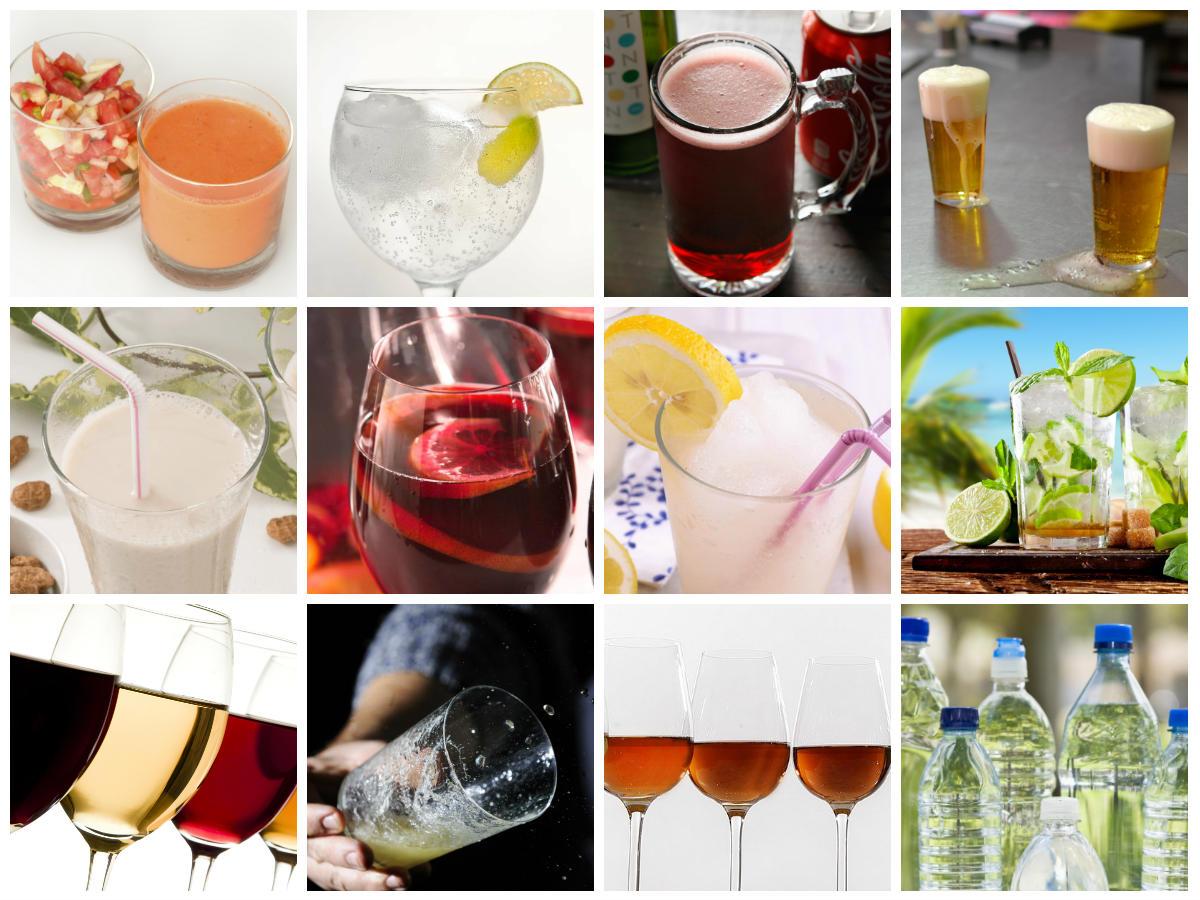 Verkoelende Alcoholische En Niet Alcoholische Spaanse Dranken