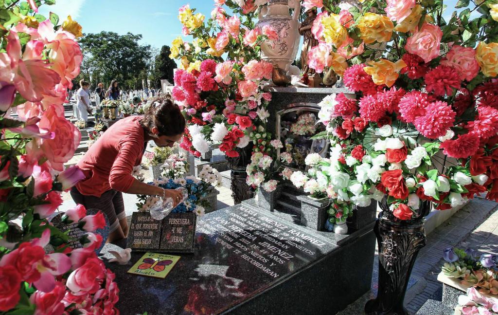 Allerheiligen of Dia de Todos los Santos in Spanje