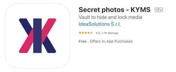 Secret photos KYMS
