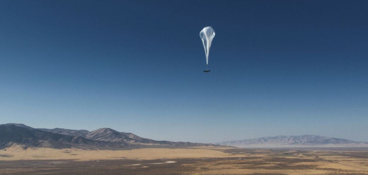 Google Loon balloon start working bringing the Internet