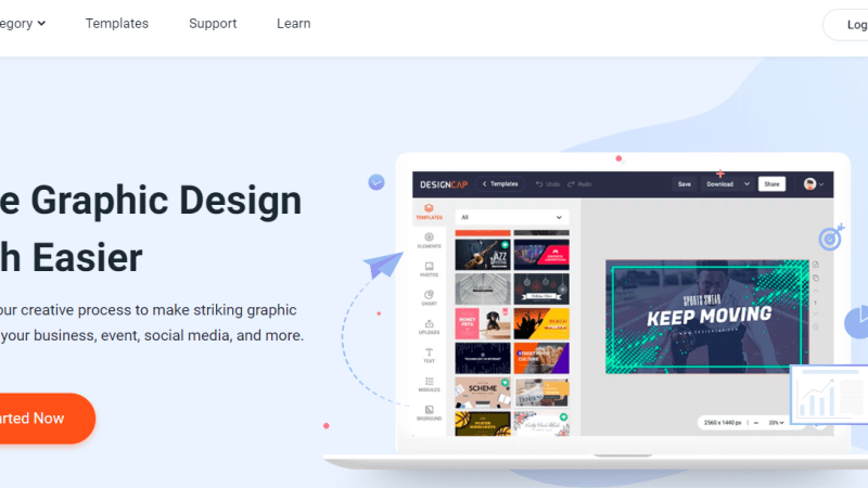DesignCap free online design pictures | Make online graphic design easier