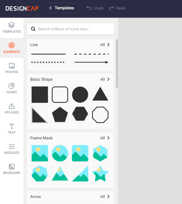 designcap Lots of icons