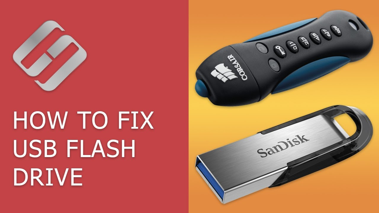The worst and most common USB flash drive problems