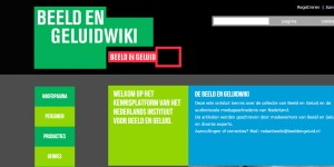 Beeld en Geluidwiki