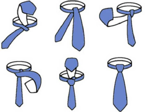 How to tie a tie easy and fast how to how to tie a easy step by directions ccuart Images