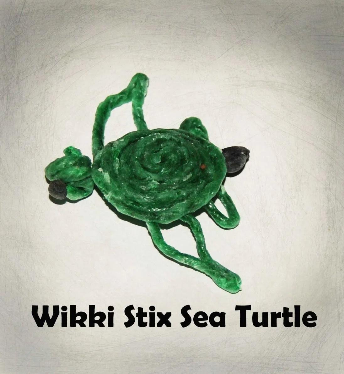Wikki Stix Sea Turtle Life Cycle For Kids