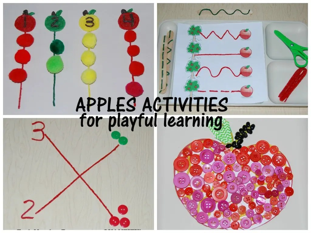 Wikki Stix Apples Activities For Playful Learning