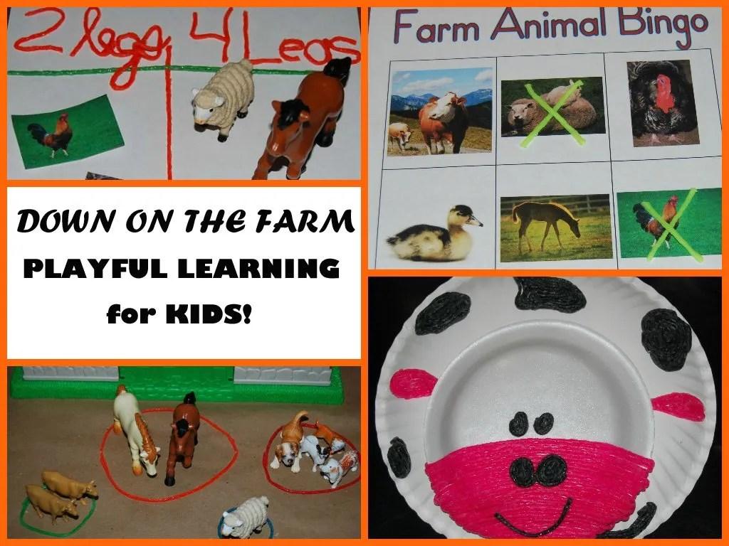 Wikki Stix Farm Theme Activities For Kids