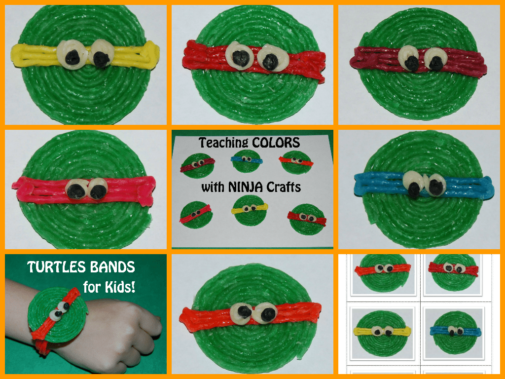 Wikki Stix Ninja Turtles Crafts For Kids