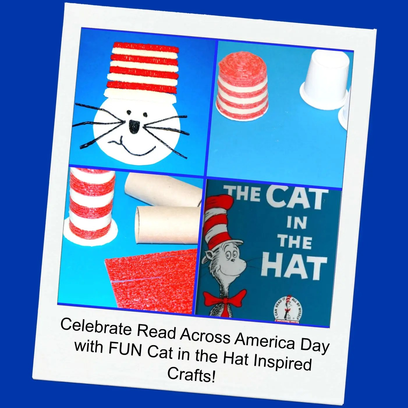 Cat In The Hat Inspired Crafts For Kids