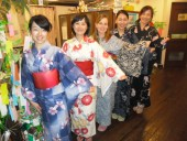2014 Yukata Day staff