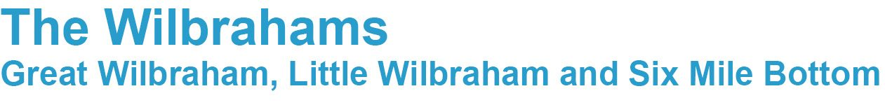 The Wilbrahams, Great Wilbraham, Little Wilbraham and Six Mile Bottom