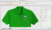 Bitmap to embroidery conversion