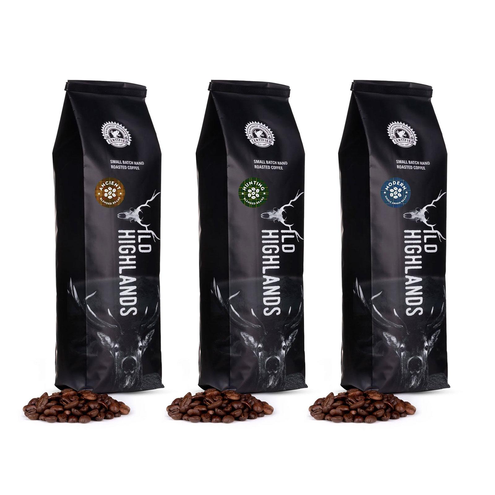 Wild Highlands Coffee Creations