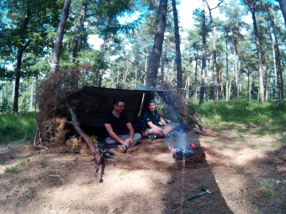 chaamse bossen wildkamperen